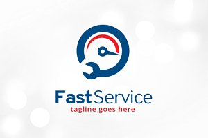 Fast Service Logo Template