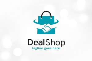 Deal Shop Logo Template