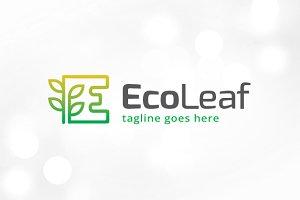 Eco Letter E Logo Template