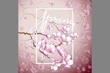 Vintage Spring Background