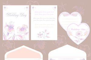 Invitations and envelope ONLY design