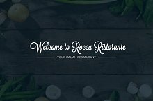 Restaurant PSD Template