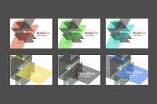 Abstract polygon design