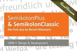 SemikolonClassic Bold