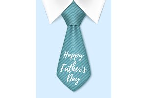 Happy Fathers  Day greeting card.