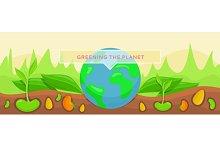 Ecology Greening Planet