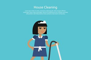 House Cleaning Template Web Page