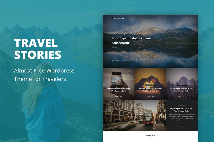 Travel Stories - WordPress Theme