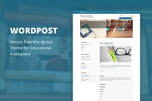 Wordpost - Cheap WordPress Theme