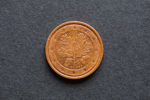 Two Cent Euro coin