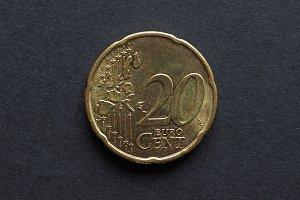 Twenty Cent Euro coin