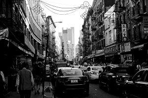Mott St, Chinatown, NYC