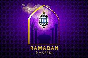 ramadan kareem Islamic design