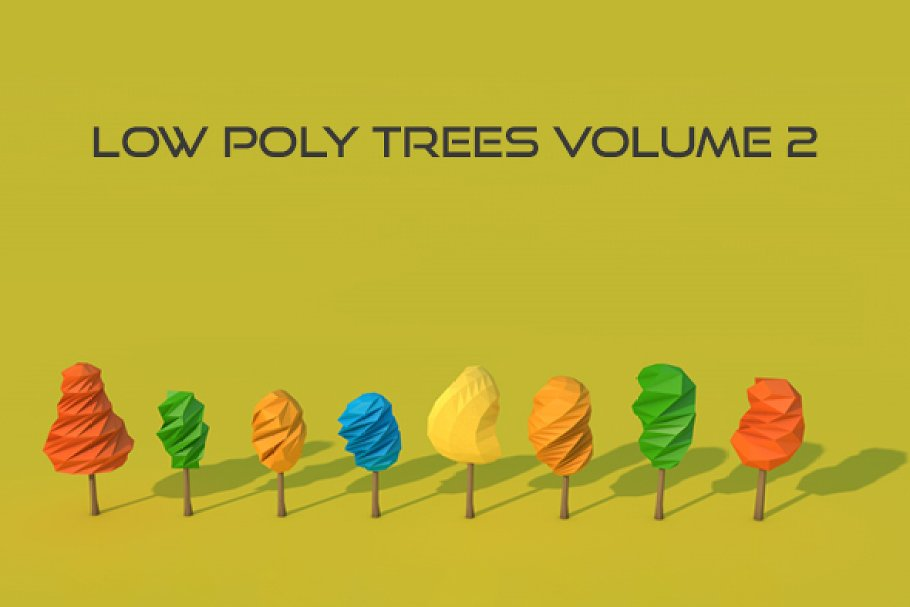 Low Poly Trees