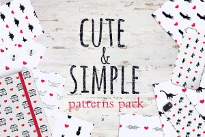 Cute&Simple patterns pack