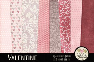 Valentine Background Textures