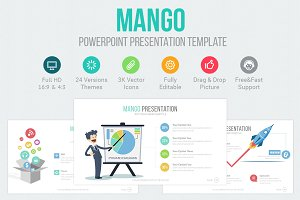Mango Powerpoint Template