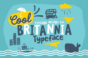 Cool Britannia - Typeface