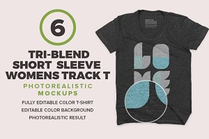 Tri-Blend Short Sleeve Womens
