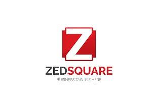 Zed Square Letter Z Logo