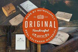 Original Handcrafted Mock-Ups