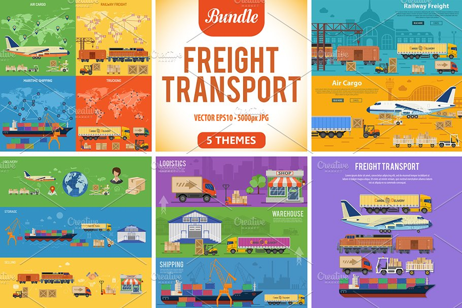 Freight Transport in Illustrations