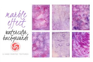 Purple stained watercolor background