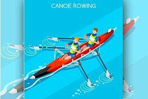 Canoe Rowing 2016 Summer Olympics
