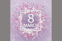 Women day background