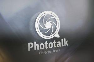 Photo Talk Logo