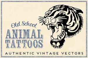 Old School Animal Tattoos
