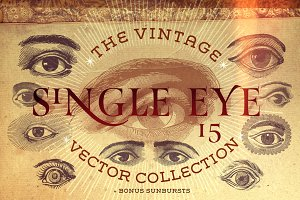 The Single Eye Vector Collection