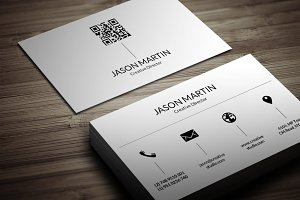 Dual Corporate Business Card