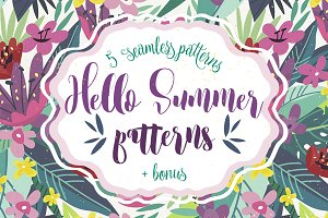 Hello Summer patterns