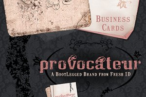 Provocateur Business Cards