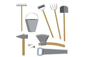 Farm tools set