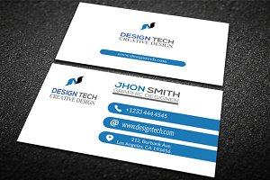 Design Tech Business Card