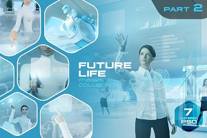Future Life Layered PSD pack v2