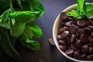 Chocolate chip mint
