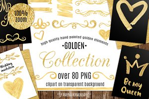 Gold Graphic Collection