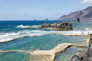 Natural Swimming pool, El Hierro.