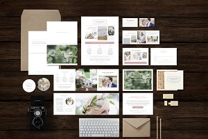 Photographer Marketing Set Templates