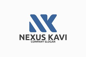 Nexus Kavi N,M Letter Logo