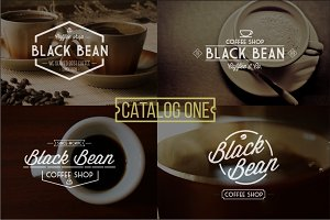 6 Vintage Coffee Logo