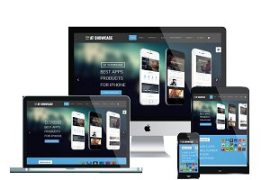 AT Showcase Onepage Joomla Template