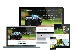 AT Gallery Onepage Joomla Template
