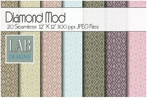 20 Diamond Mod Fabric Textures