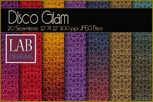 20 Glam Sparkle Fabric Textures
