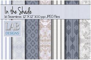 16 Seamless Blue & Grey Textures