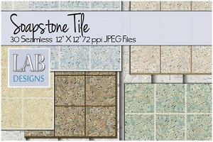 30 Soap Stone Seamless Tile Textures